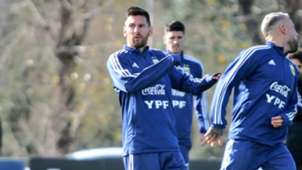 Messi Argentina entrenamiento 29052019