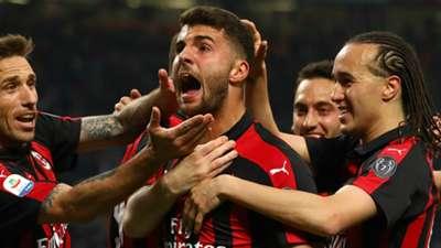 Patrick Cutrone AC Milan 2018-19