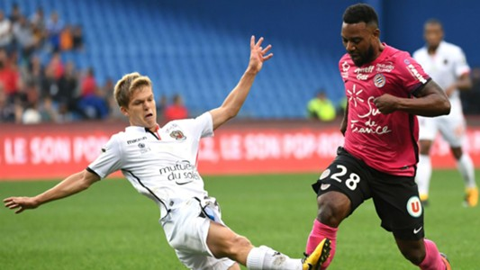 Vincent Koziello  Stephane Sessegnon MHSC Nice Ligue 1 15102017