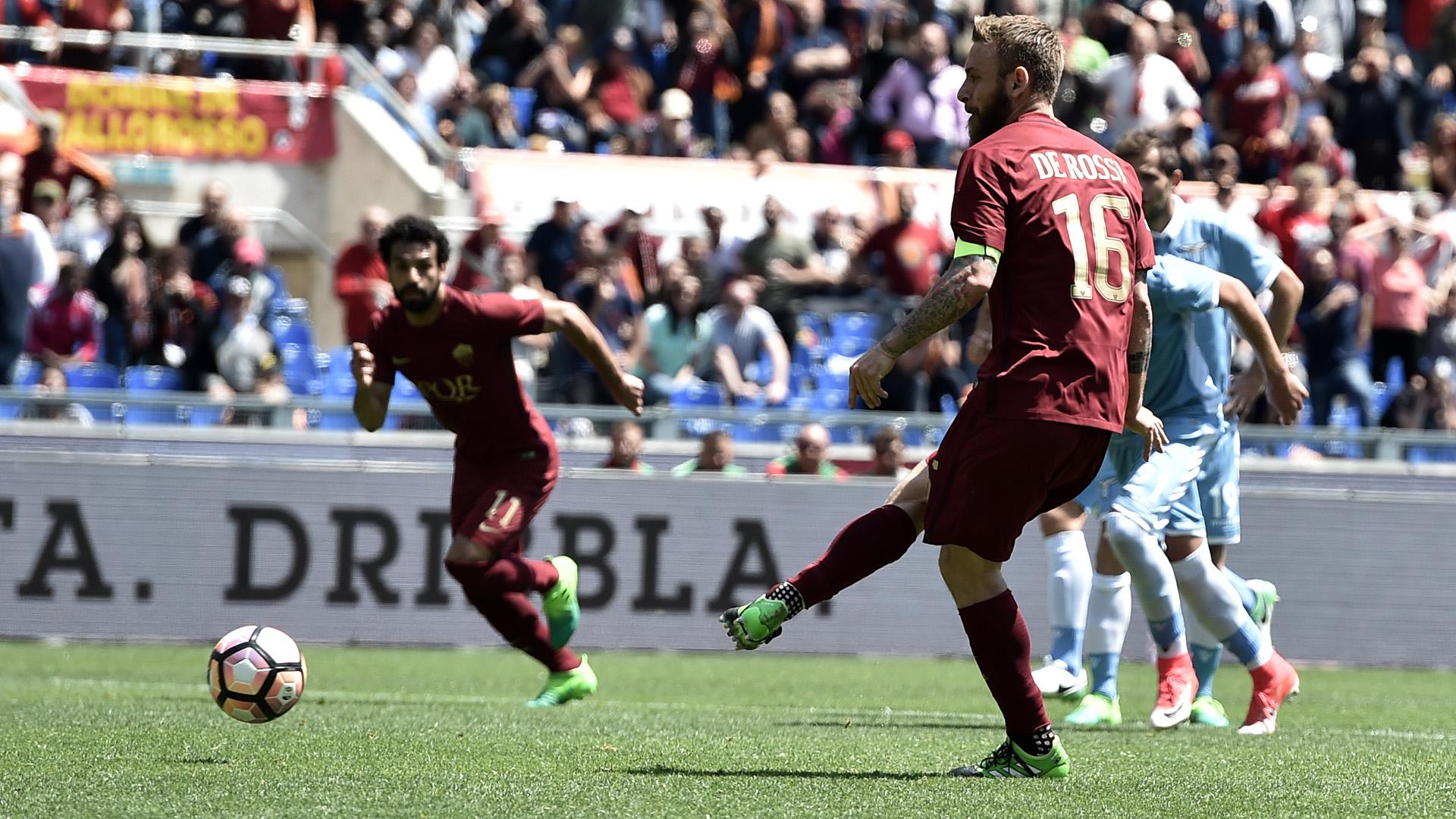 Daniele De Rossi Roma Lazio Serie A