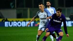 Ivan Perisic Federico Chiesa Fiorentina Inter Serie A