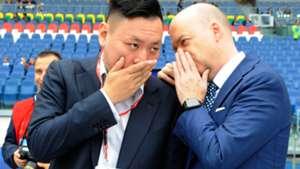 Yonghong Li Marco Fassone AC Milan