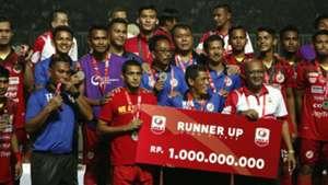 Semen Padang Runner-up Liga 2 2018