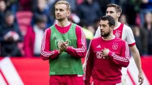 Siem de Jong, Amin Younes, Ajax, Eredivisie 03112018