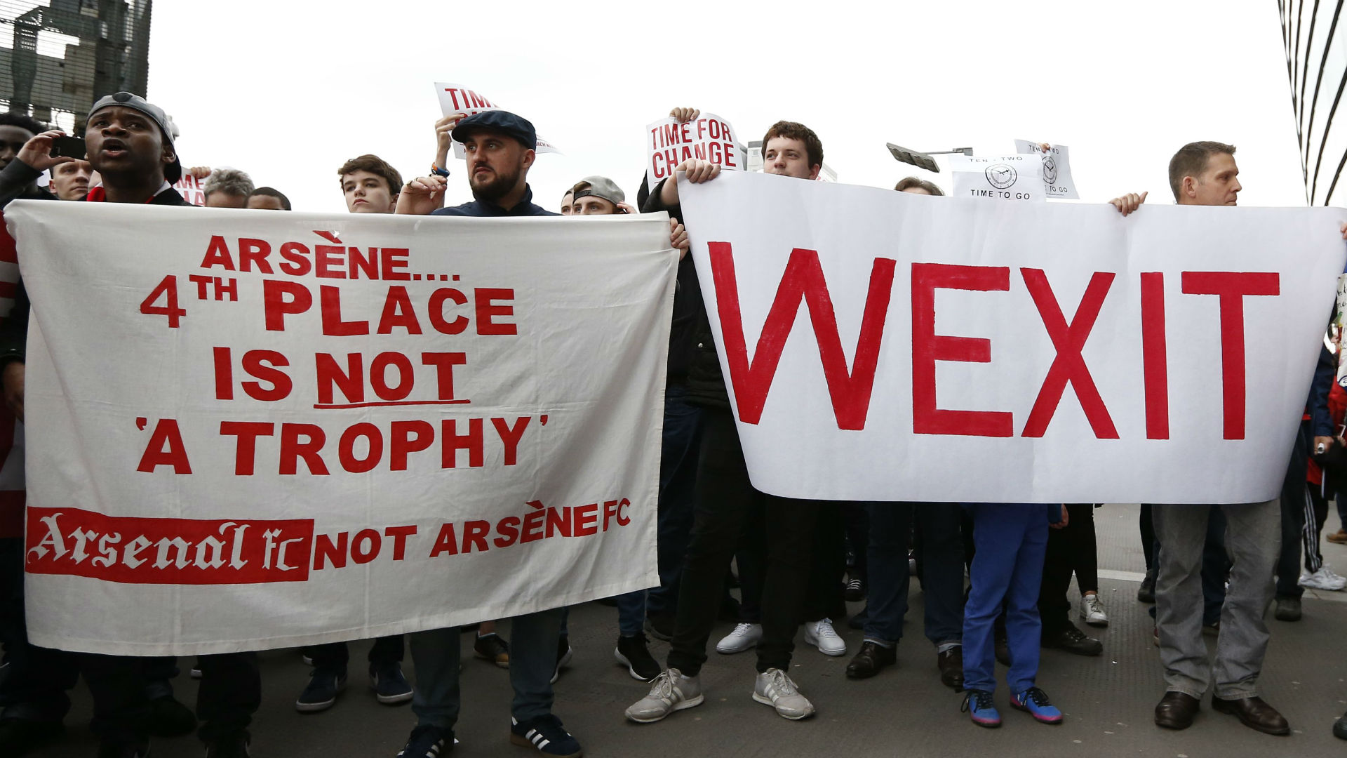 Wenger Wexit Arsenal
