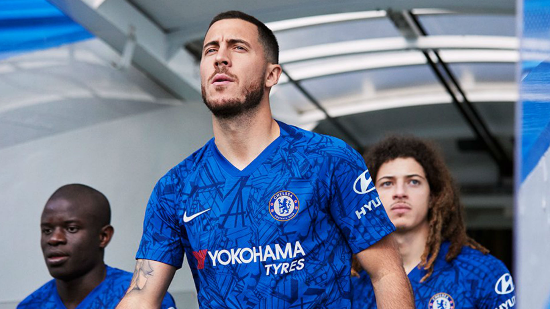 Chelsea New Kit: Real Madrid Target Eden Hazard Front