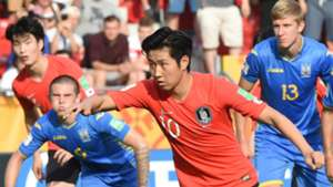 Kang-in Lee South Korea Ukraine U20WC Final 06152019