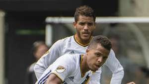 Giovani and Jonathan Dos Santos MLS LA Galaxy 08062017