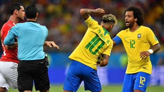 Neymar Cesar Ramos Marcelo Brazil Switzerland World Cup 17062018