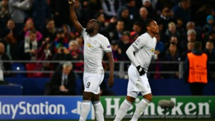 Romelu Lukaku Manchester United Champions League 27092017