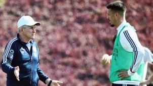 Jupp Heynckes Sandro Wagner Bayern Munchen