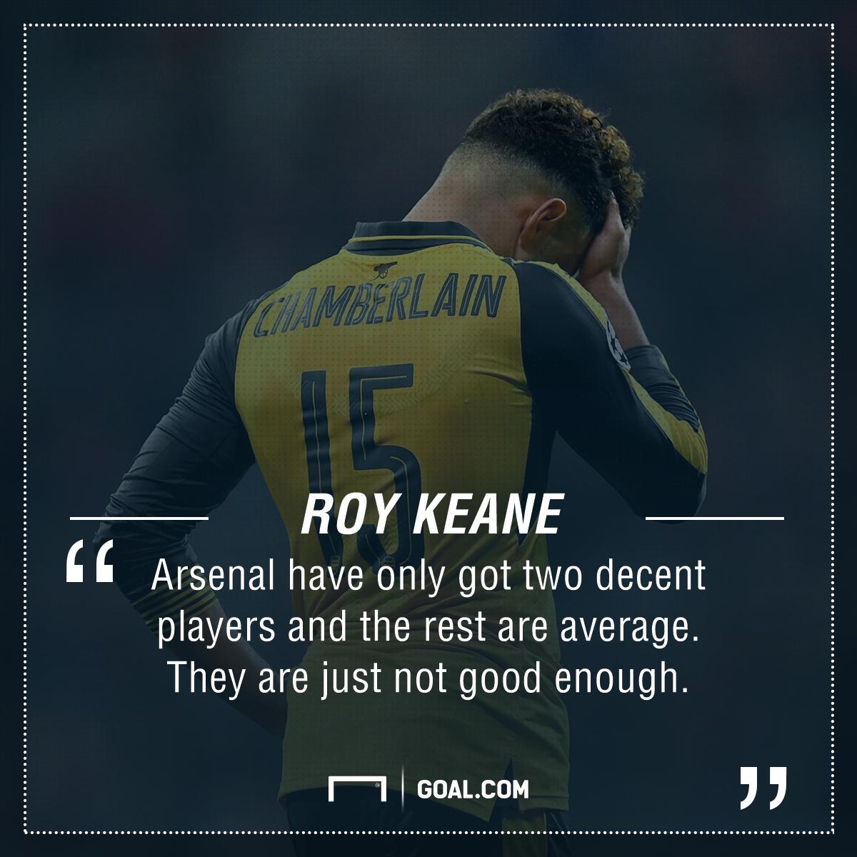 Roy Keane Arsenal PS