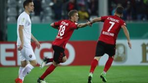 Petersen Niederlechner Freiburg Dresden DFB-Pokal 25102017