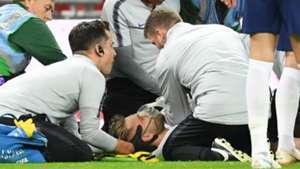 Luke Shaw injury England Spain