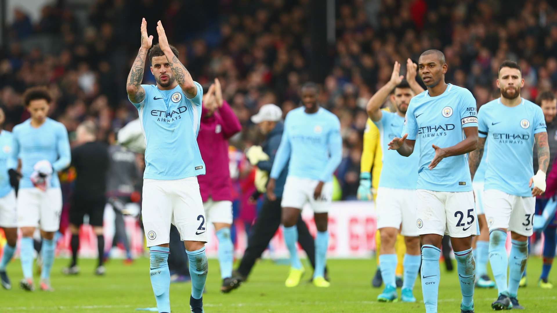 Crystal Palace frena al Manchester City con empate 0-0