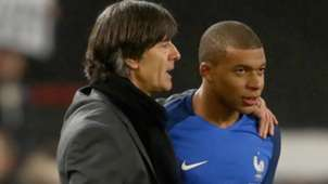 Kylian Mbappe Joachim Löw Germany France