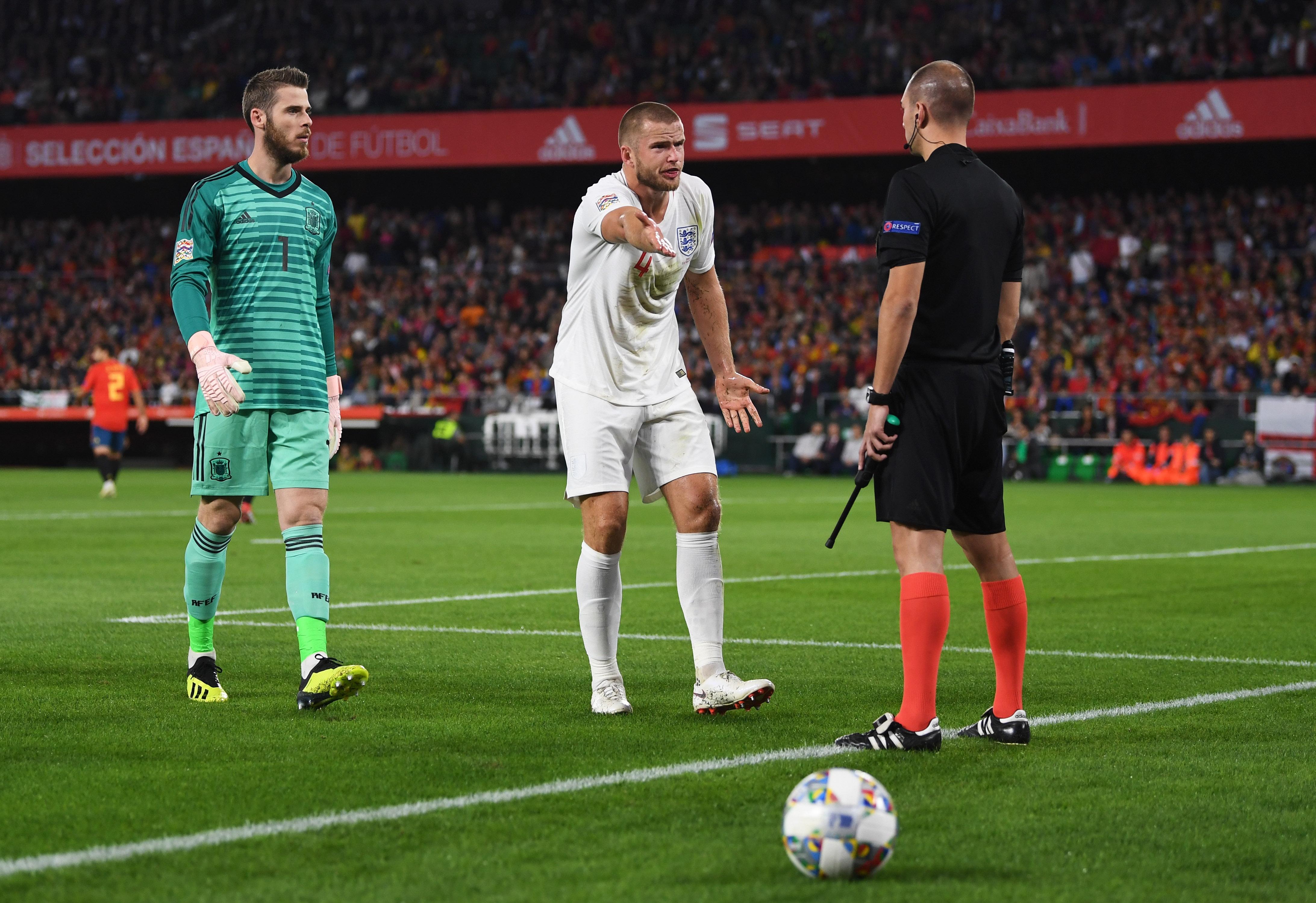DE GEA ESPAÑA INGLATERRA UEFA NATIONS LEAGUE