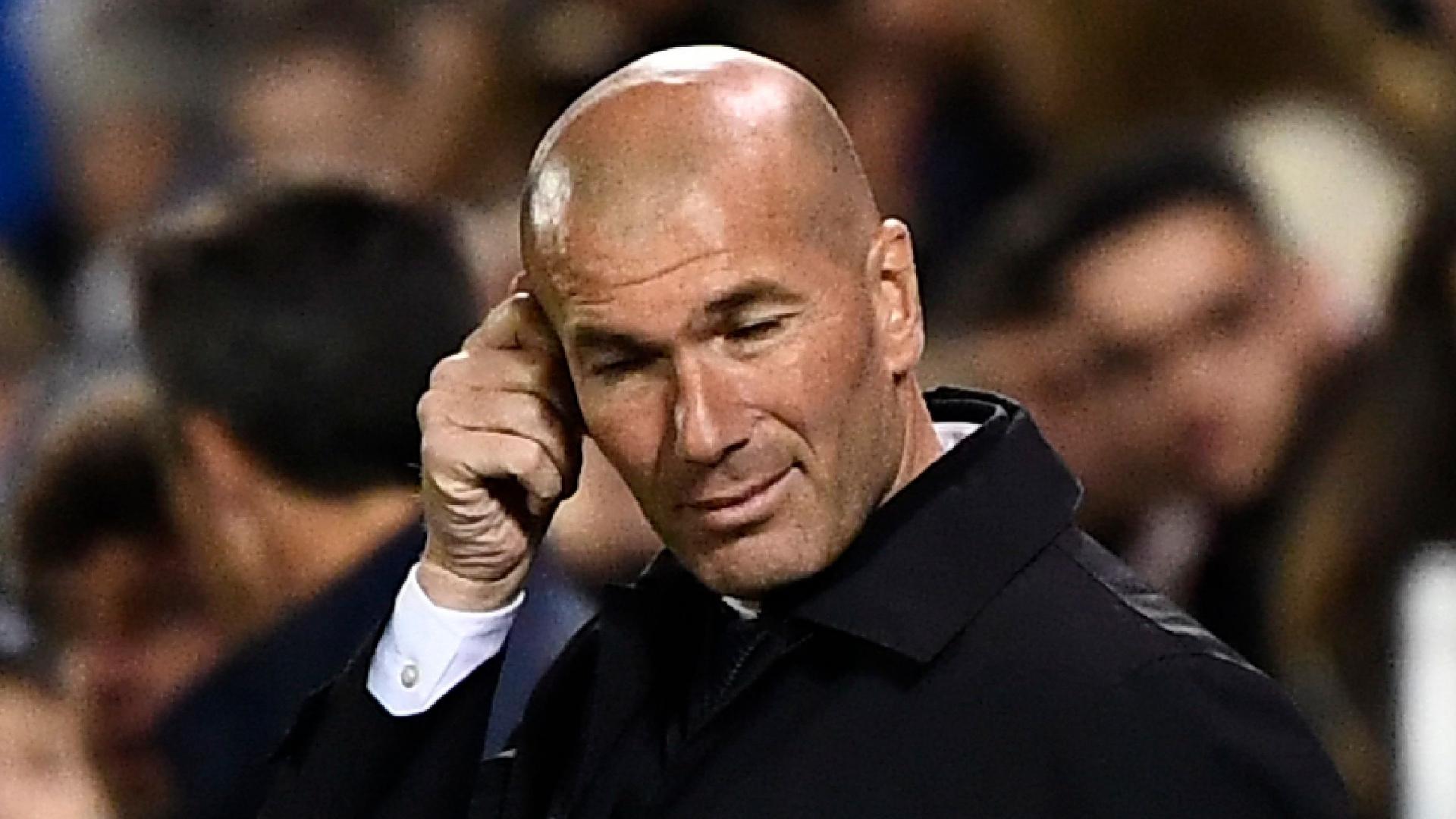 real madrid news  zinedine zidane  barcelona champions