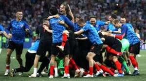 010718 Croacia Dinamarca Luka Modric