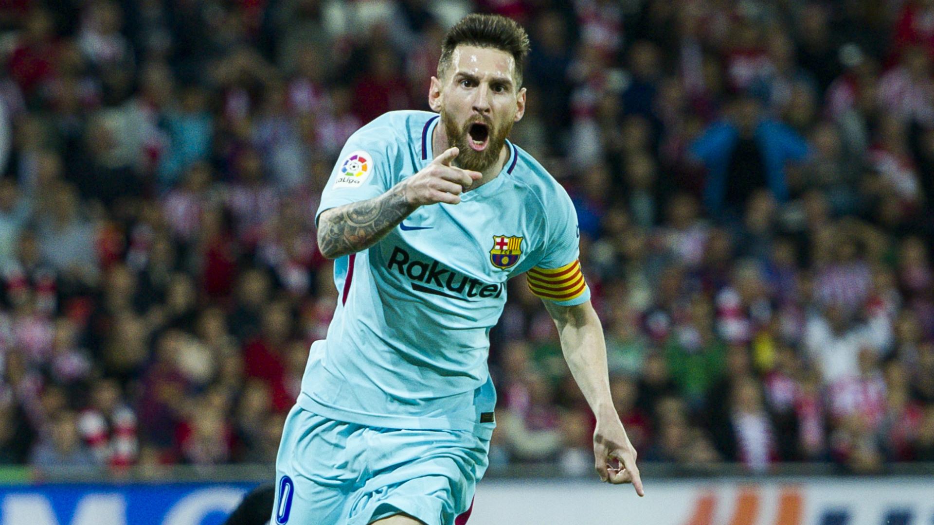 Messi Athletic Bilbao Barcelona LaLiga