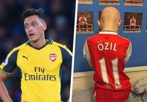 Mesut Ozil composite