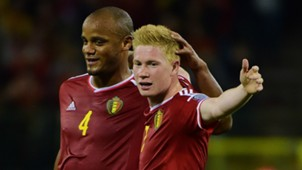 Belgium Kompany De Bruyne