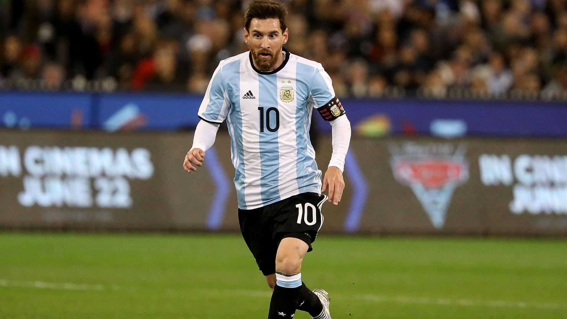 Lionel Messi Brasil Argentina Friendlies 09062017
