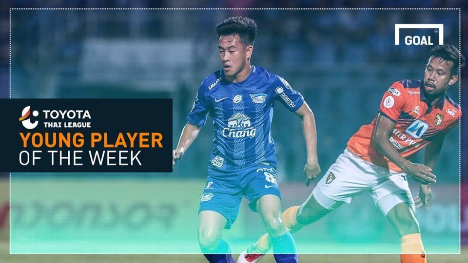 ผลการค้นหารูปภาพสำหรับ Toyota Thai League Young Player of the Week 7 : วรชิต กนิตศรีบำเพ็ญ