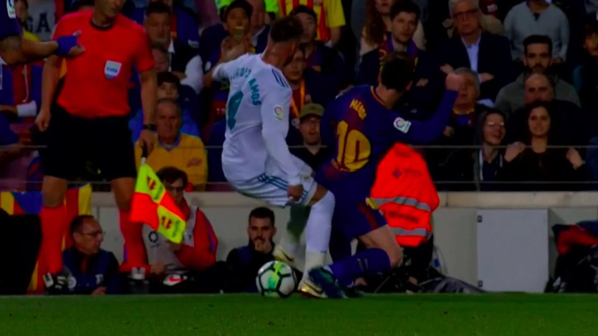 Barcelona vs. Real Madrid: árbitro no pitó claro penal contra Marcelo y generó enojo de Cristiano Ronaldo