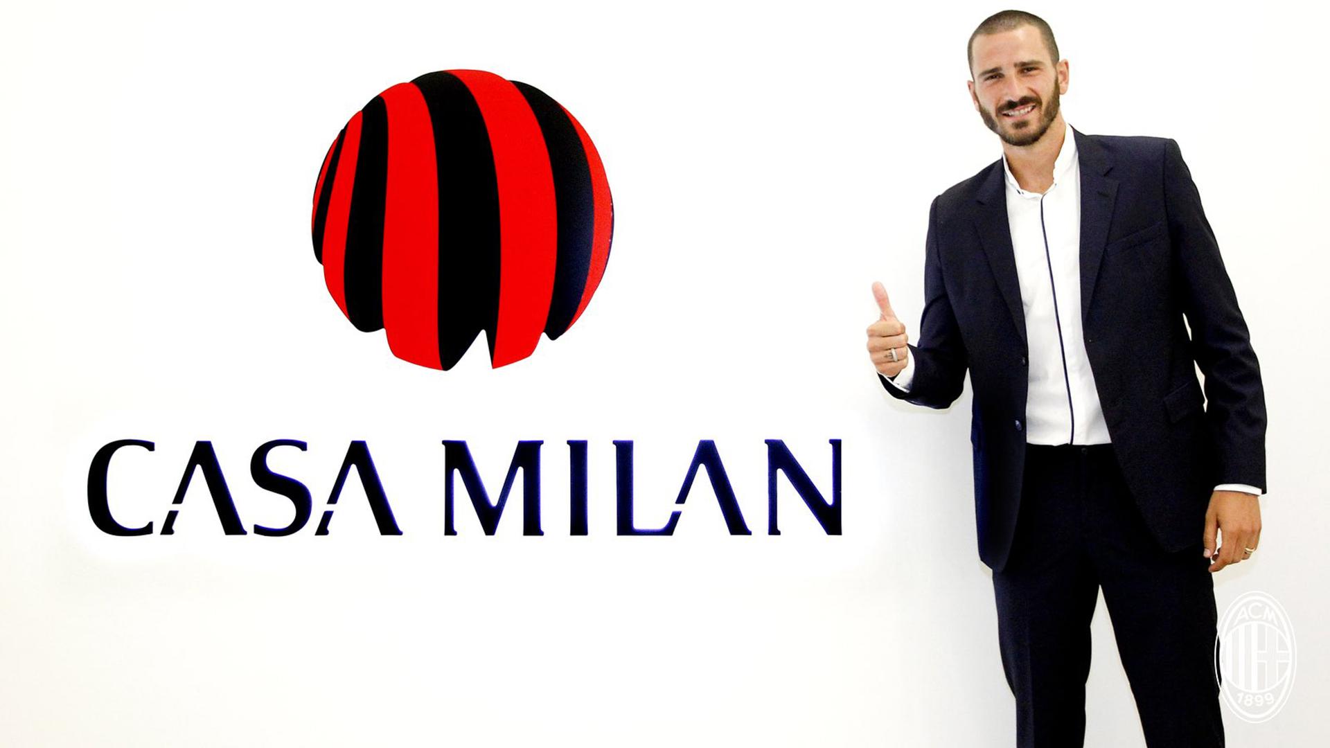 Leonardo Bonucci Milan