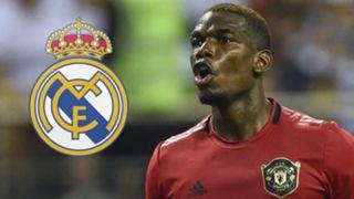 Paul Pogba Man Utd Real Madrid