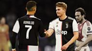 Ronaldo De Ligt Juventus