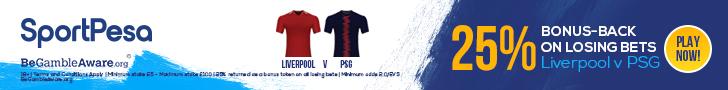 SportPesa Liverpool v PSG offer footer