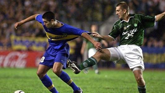 Palmeiras Boca Juniors Riquelme Galeano Copa Libertadores 2000