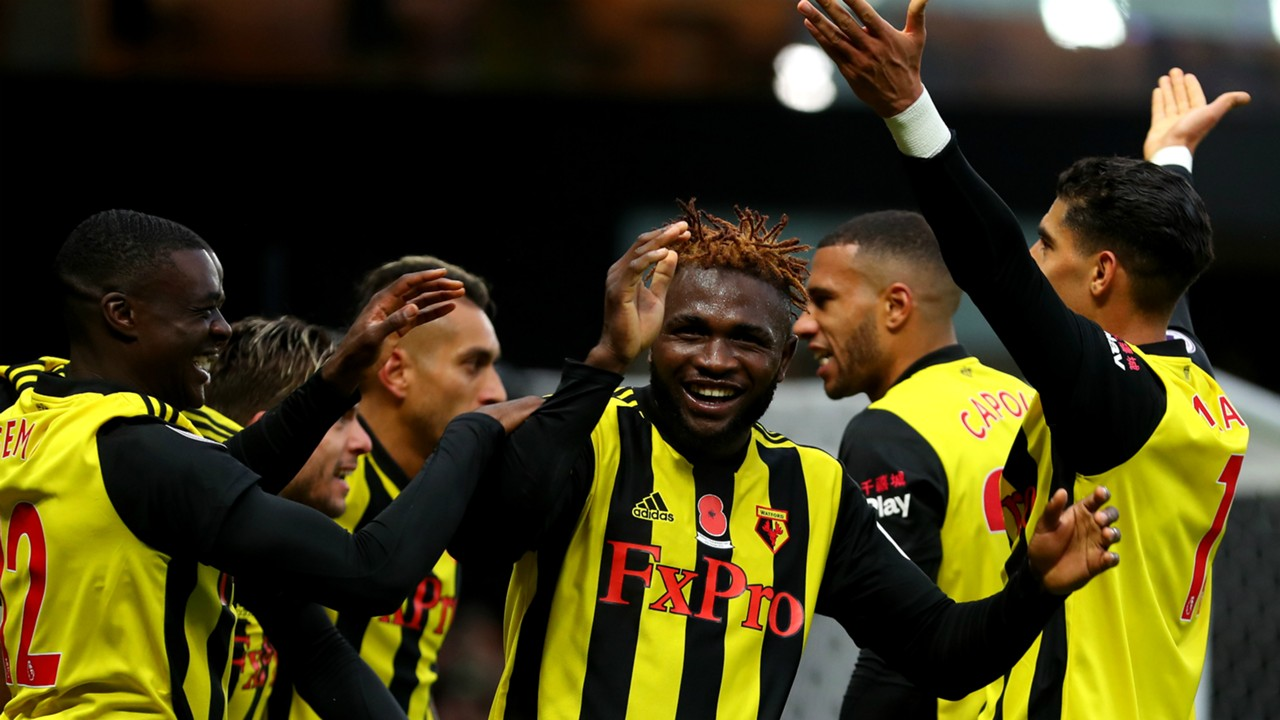 Watford striker Isaac Success up for Goal of the Month prize | Goal.com