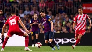 FC Barcelona Girona Messi Juanpe 23092018