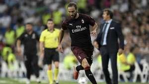 Gonzalo Higuain Real Madrid Milan Friendlies 08112018
