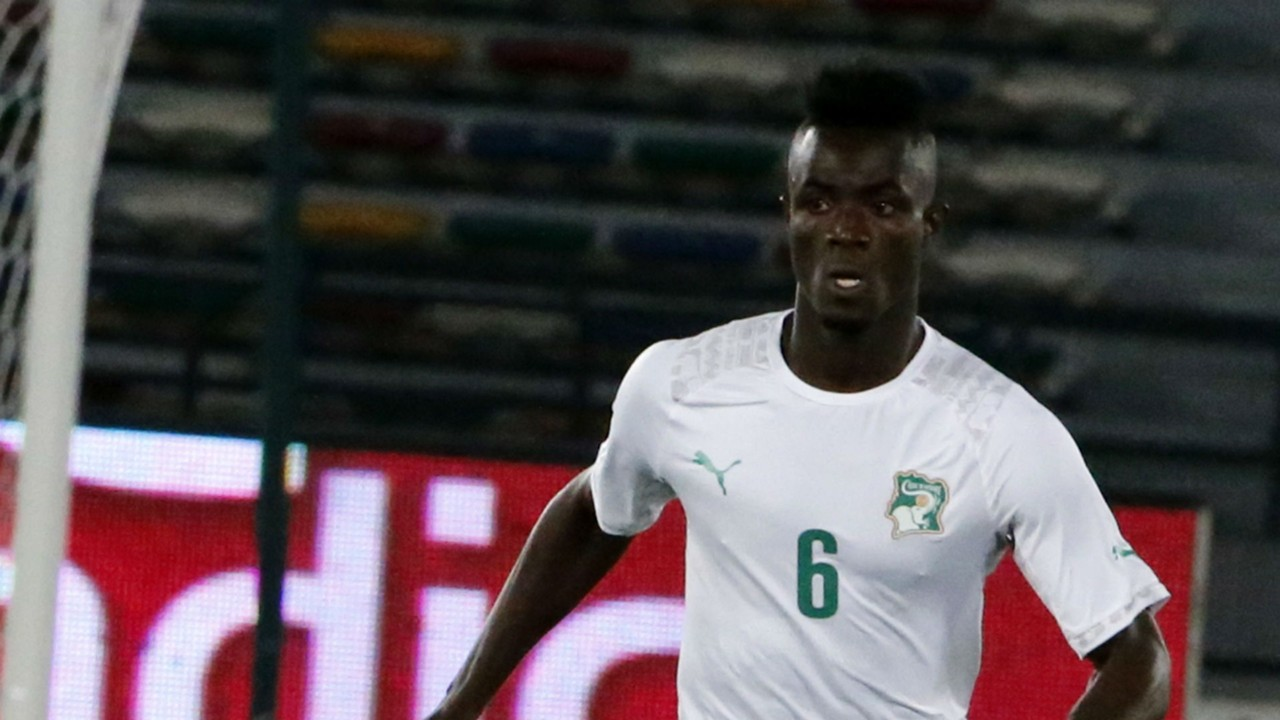 Eric Bailly Ivory Coast 16012015