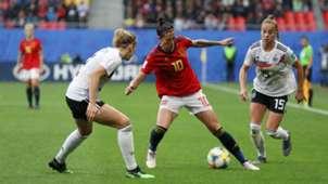 Germany Spain Jennifer Hermoso Kathrin Hendrich 12062019