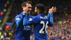 Riyad Mahrez Leicester City Premier League