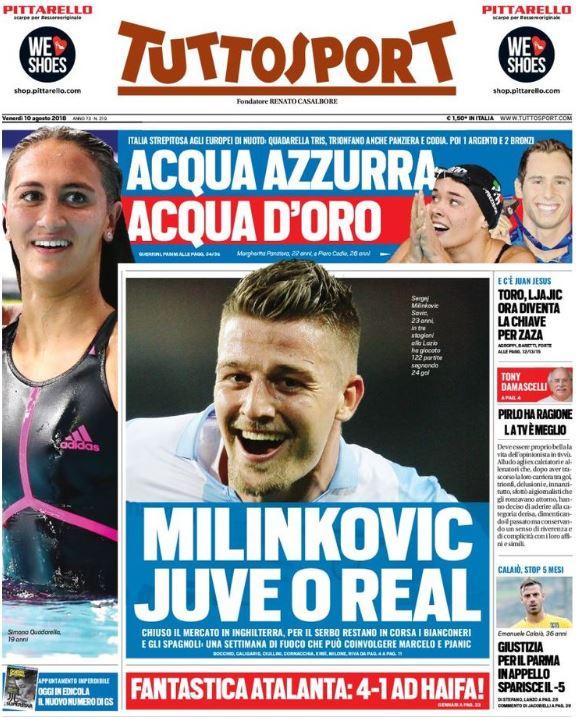 Tuttosport cover