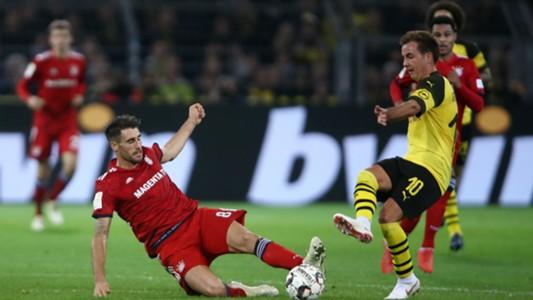 Mario Götze Javi Martinez Dortmund Bayern 10112018