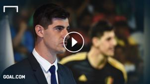 Thibaut Courtois Real Madrid GFX