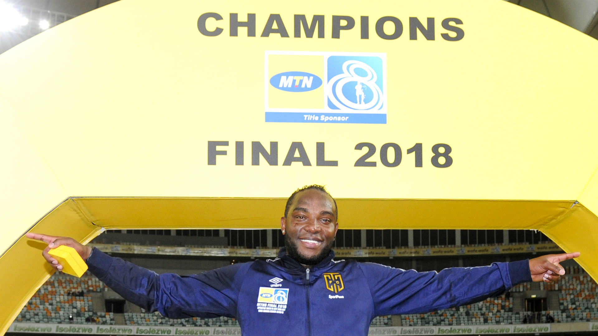 Cape Town City, Benni McCarthy, September 2018