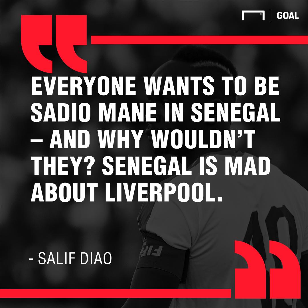 Salif Diao on Sadio Mane