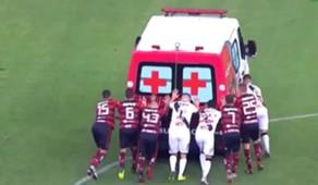 vasco flamengo ambulance