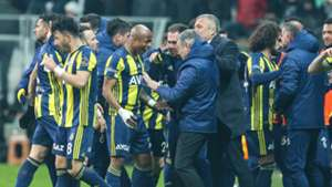 Besiktas Fenerbahce Goal Celebrations 250219