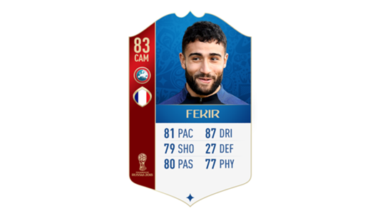 FIFA 18 World Cup France Fekir