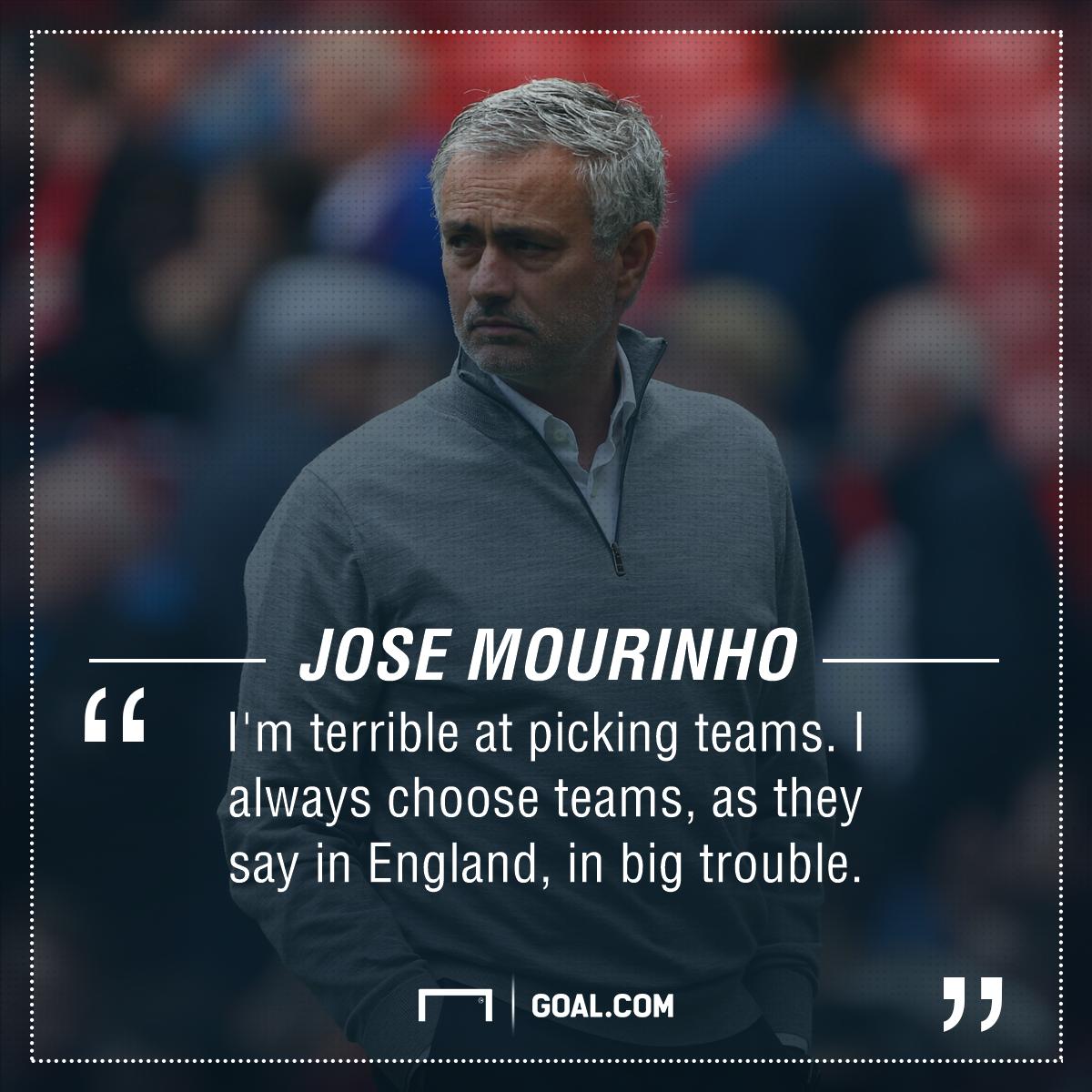 Jose Mourinho trouble
