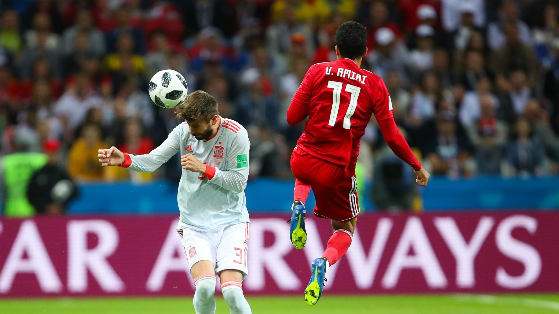 Gerard Piqué España - Irán